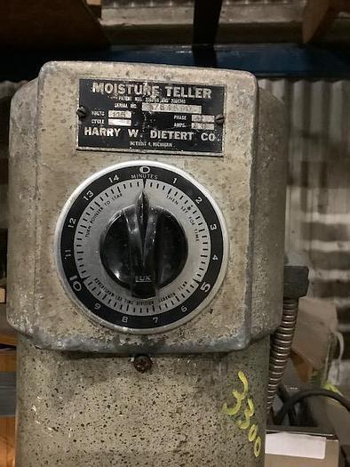 Used DIETERT 276 MOISTURE TELLER