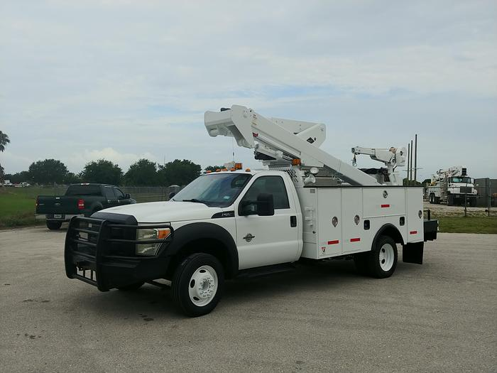 Used Versilift VST-40I 45ft Articulating & Telescopic MH Bucket Boom on 2013 Ford F550