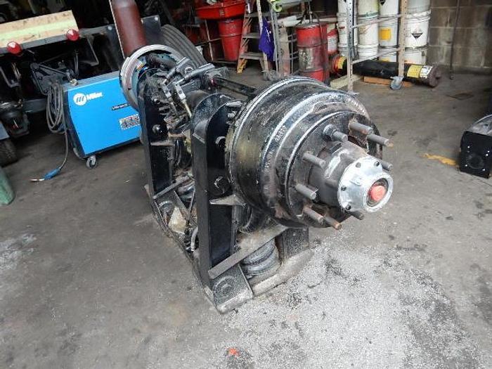 Used Hub Piloted Pusher Axle