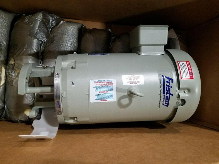 Used Fristam Pump Motor Model #FZX2150 Baldor 7.5 HP Tested