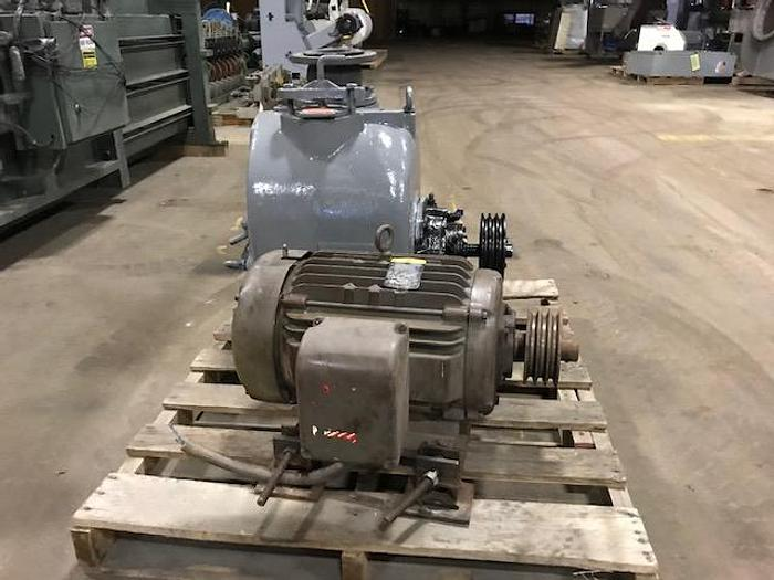 Used TRASH PUMP SELF PRIMING 15 HP MOTOR