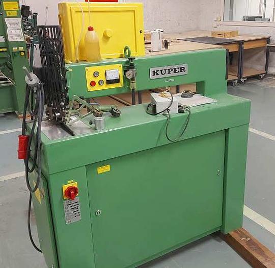 Used 1998 Kupfer Kuper veneer sewing machine, type FW/J-920