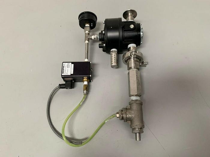 Used Fairchild 4516AE Pneumatic Volume Booster w/ Proportion Air Pressure Valve