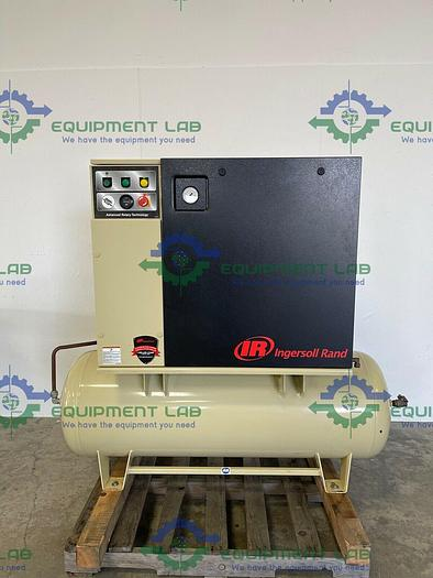 Used Ingersoll Rand  UP6-7.5-125 Rotary Screw Air Compressor, 80 Gallon, 7.5 HP, 3PH