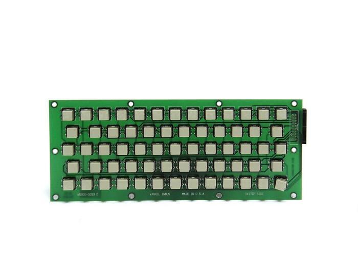 Used Varian Vankel Keyboard PCBA for Bio-Dis 3 5015-0064 N5000-0033 C (5184)