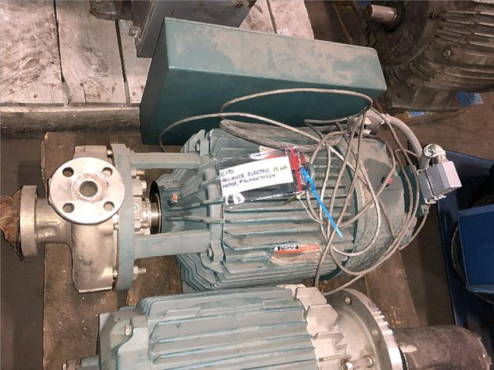 RELIANCE ELECTRIC 15 HP MOTOR