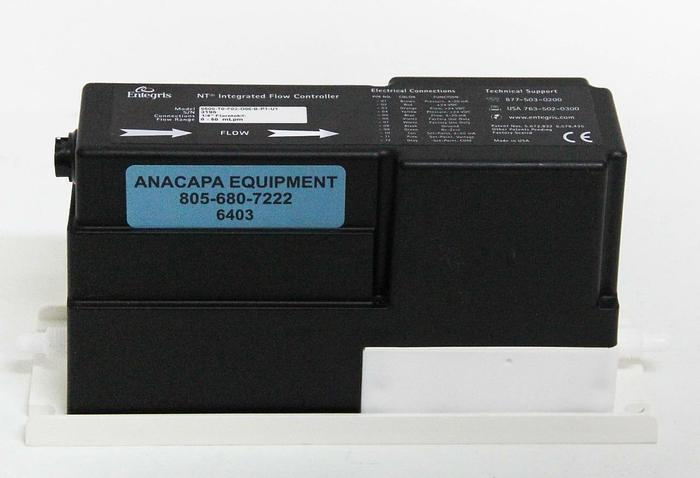 Used Entegris 6500-T0-F02-D06-B-P1-U1 NT Integrated Flow Controller 0-50 mLpm (6403)