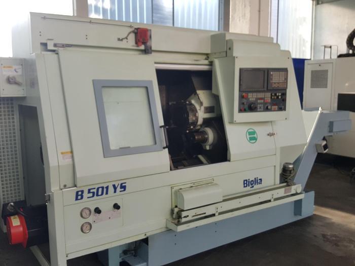 Usata Tornio CNC BIGLIA - B 501YS
