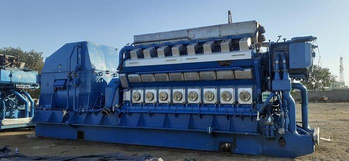 Used 6.5 MW 2004 Used Wartsila 16V32LN-CR HFO Generator Sets
