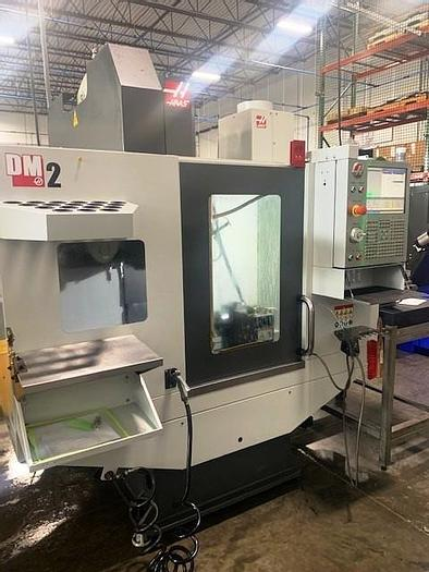 Used Haas DM-2 4-Axis CNC Vertical Drill/Tap Center