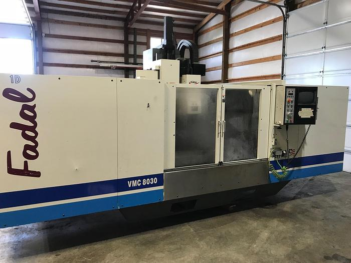 1998 Fadal 8030 Machining Center with 4th Axis #1654