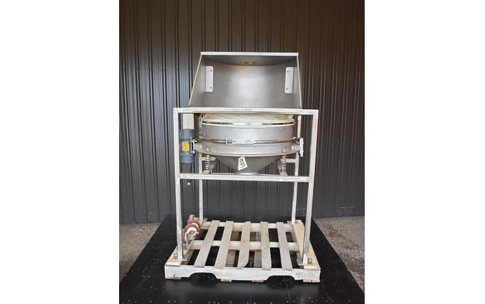 "USED KASON SIFTER, 30"" DIAMETER, STAINLESS STEEL, FLOW THROUGH"