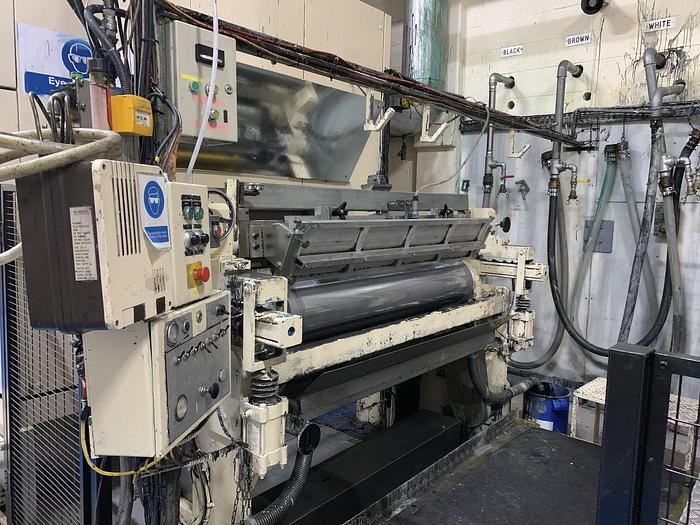 1987 SPOONER 850322 PVC Foam Coating Line