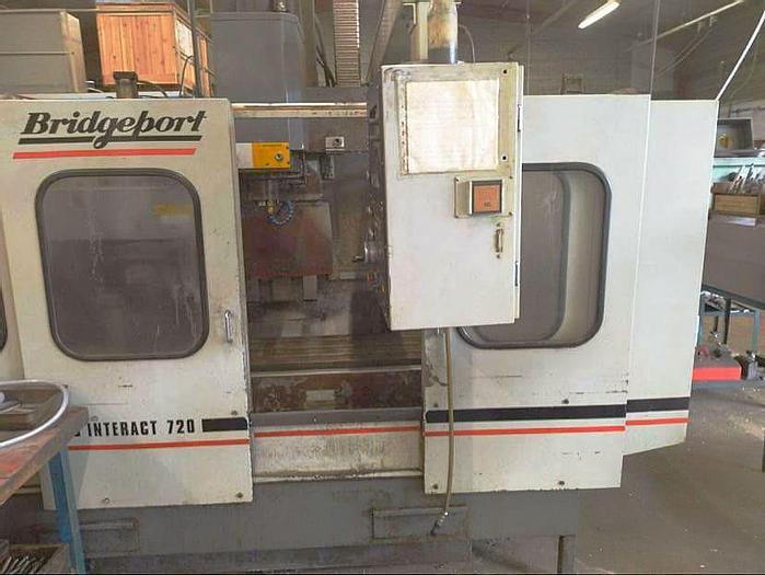 Used Bridgeport Interact 720 - 1989