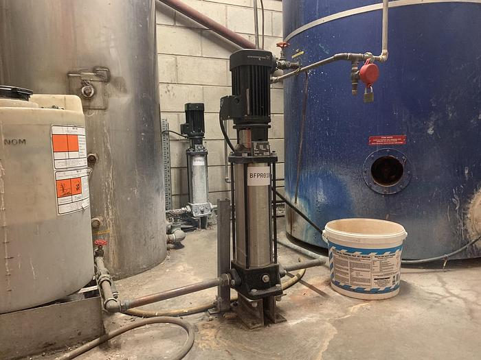 Used 2017 GRUNDFOSS CR1-23 A-A-A-E-HQQE Pump
