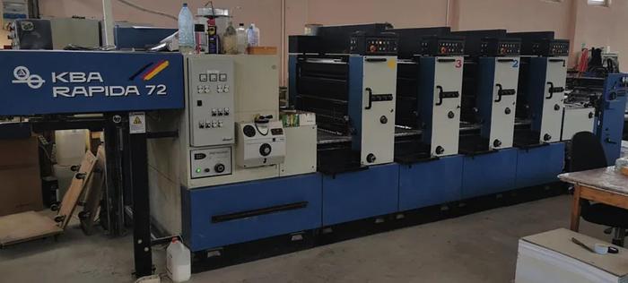 Used KBA RAPIDA 72-4