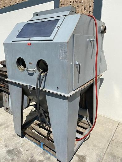 Used Dayton 3Z947 Blast Cabinet Side and Front open / 32 in x 40 in x 40 in