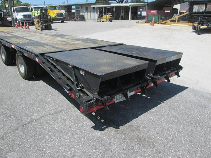 2015 Load Trail 12 Ton 40' Gooseneck Equipment Trailer