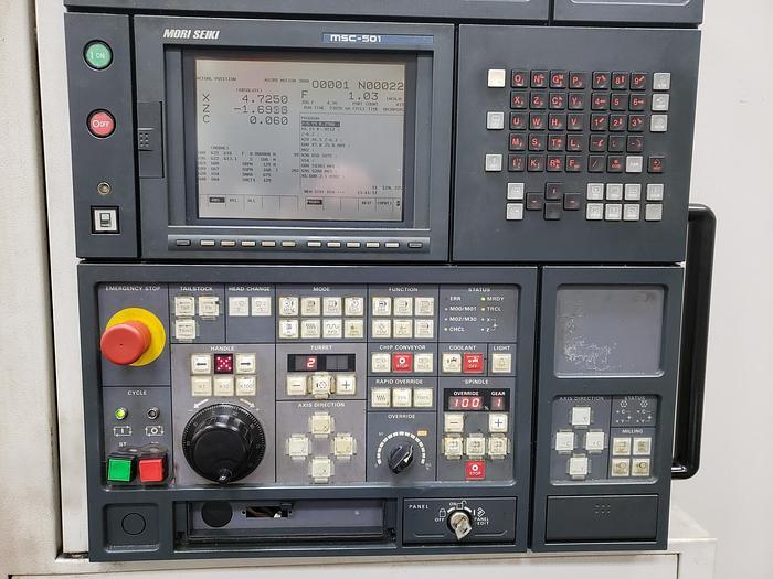 2000 Mori Seiki SL400BMC/800