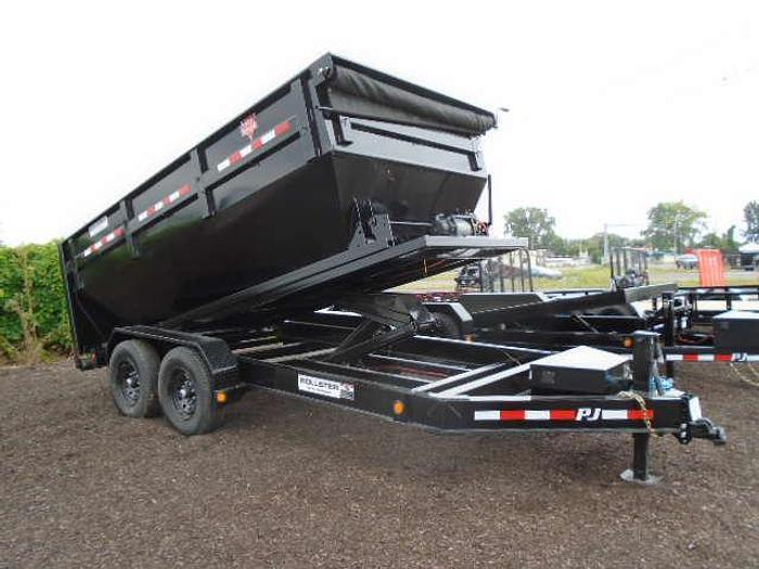 2020 PJ DRA1472 Rollster Roll-off Bin Trailer