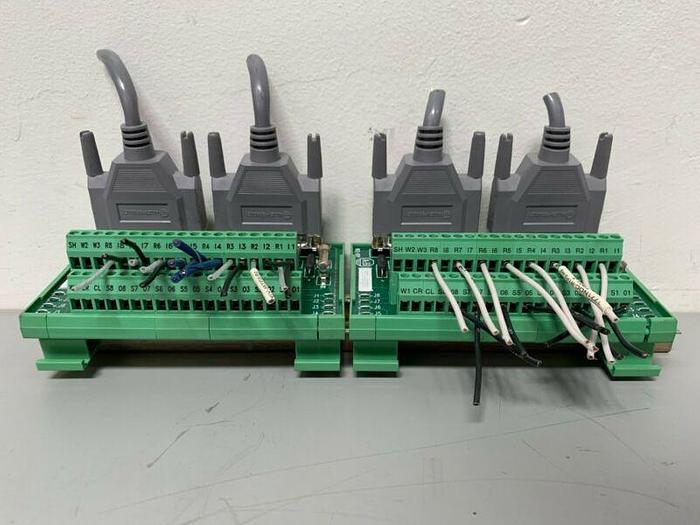 Used Allen-Bradley/Phoenix Contact 1771-RTP3 Terminal Block