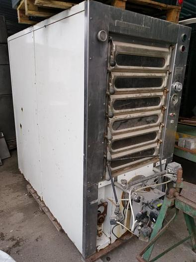 Używane Piec piekarniczy wsadowy, 6-komorowy, gazowy MONSUN