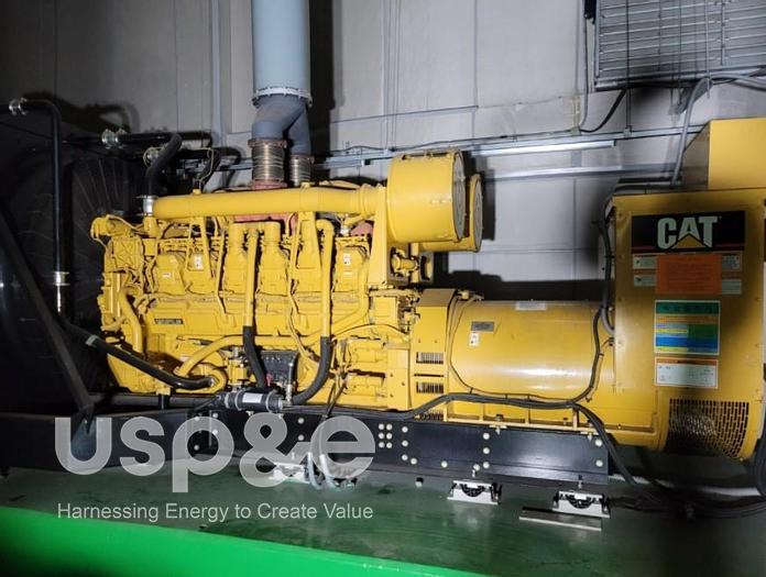 Used 1.5 MW 2004 Used Caterpillar 3512 Diesel Generator Sets