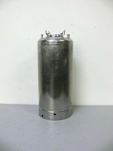 Used Alloy Products 45L 316 Stainless Steel Pressure Vessel 130 PSI