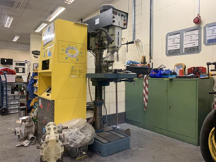 Used 2012 BAILEIGH DP-1250VS Variable Speed Pillar Drill Press