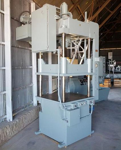 Used 50 Ton DAKE #27-153 Four Post Hydraulic Down Acting Press;