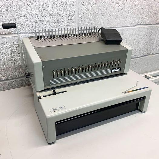 Used Pre-used Ibico / GBC EPK21 (C800) Heavy Duty Comb Punch & Binder-127369