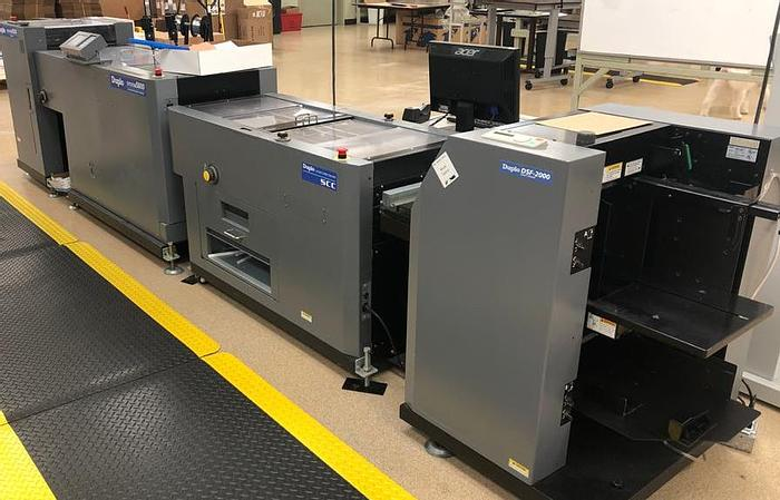 Used Duplo 5000 with DSF, In line SCC