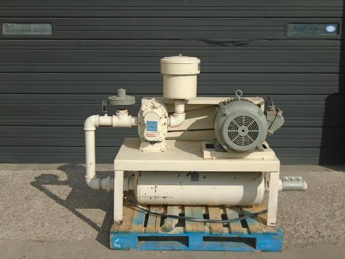 "USED ROTARY LOBE BLOWER, 395 CFM, 2.5"" INLET & OUTLET"