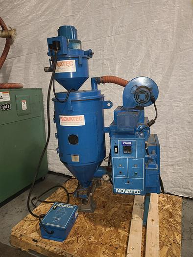 Used Novatec Hot Air Resin Dryer