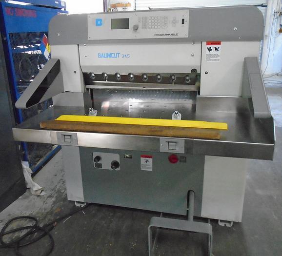 Used Baumcut 31.5 Paper Cutter