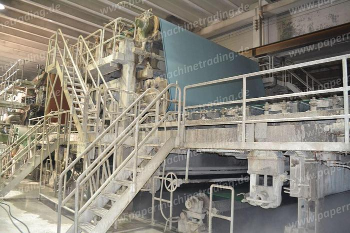 Used (PM4-79) - Paper Machine for Corrugated case Paper or Newsprint - VOITH - 4670 mm
