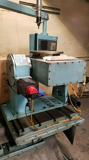 "Used 15"" Multi Axis CNC Rotary Table Gimbal Multi Angle Machining"