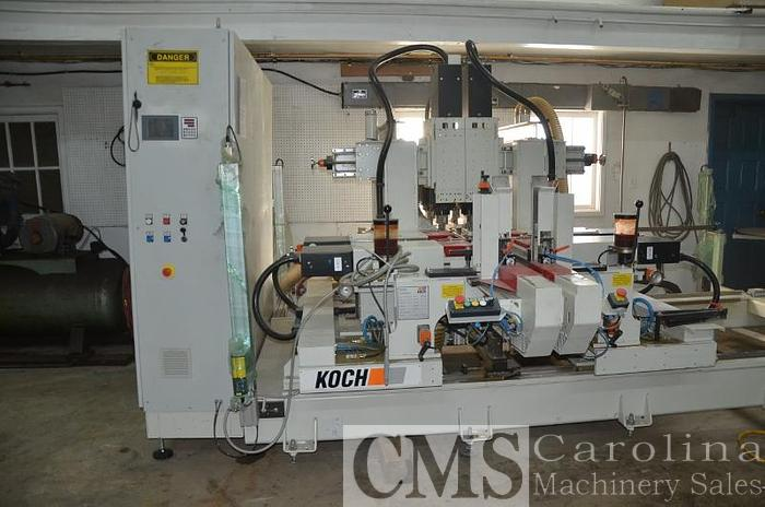 Used 2017 Koch Throughfeed Drilling Machine