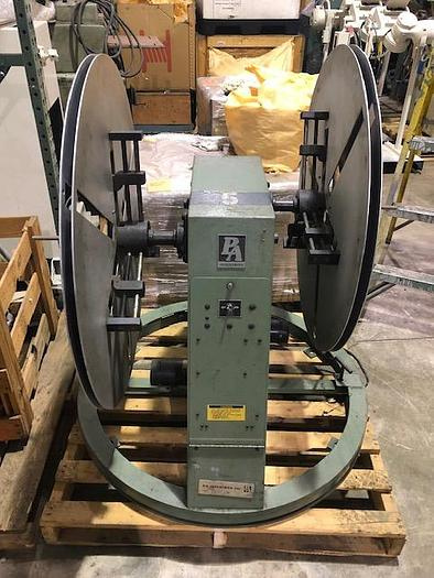 Used 300 Lb., P/A INDUSTRIES, No. DSRA300S, DOUBLE MOTORIZED UNCOILER