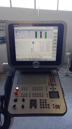 CENTRO VERTICALE A MONTANTE MOBILE DMG MORI DMF-260