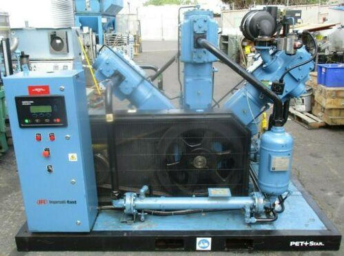 INGERSOLL RAND AIR PETSTAR-210-PACKAGE 50 HP COMPRESSOR 550 PSIG 900 LOAD HOURS
