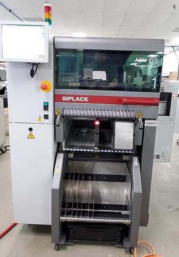Used 2017 ASM  Siplace TX2 CPP + CPP w/ JTF2 Tray feeder TA719G-12043391