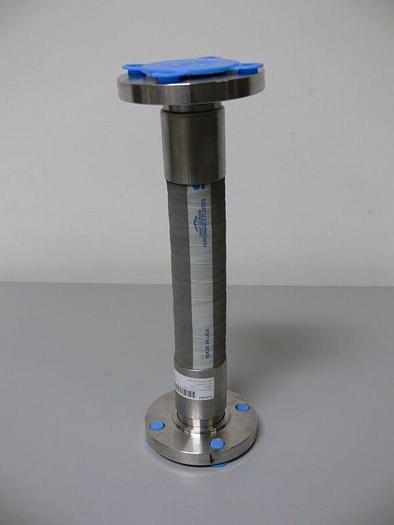 "Used Saint-Gobain 316L Stainless Steel Flange Hose GFDA 2"" X 2"" X 18-3/8"