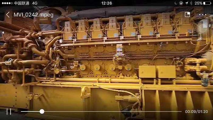 Caterpillar 3616 Type V-16 Unused generator sets x 8