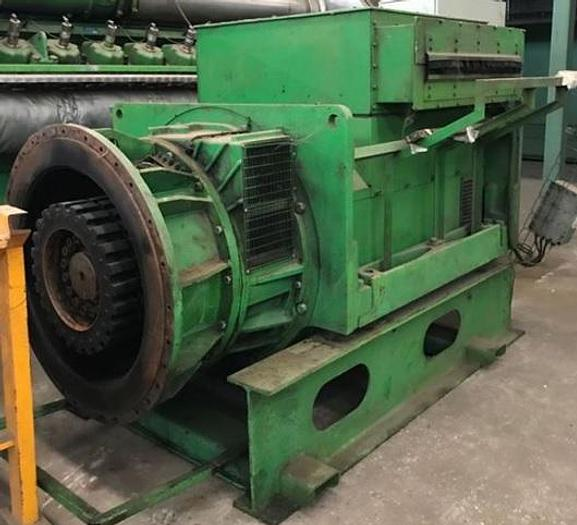 Used Stamford Alternator 3330 KVA / 400 V / 50 HZ / 1500 RPM