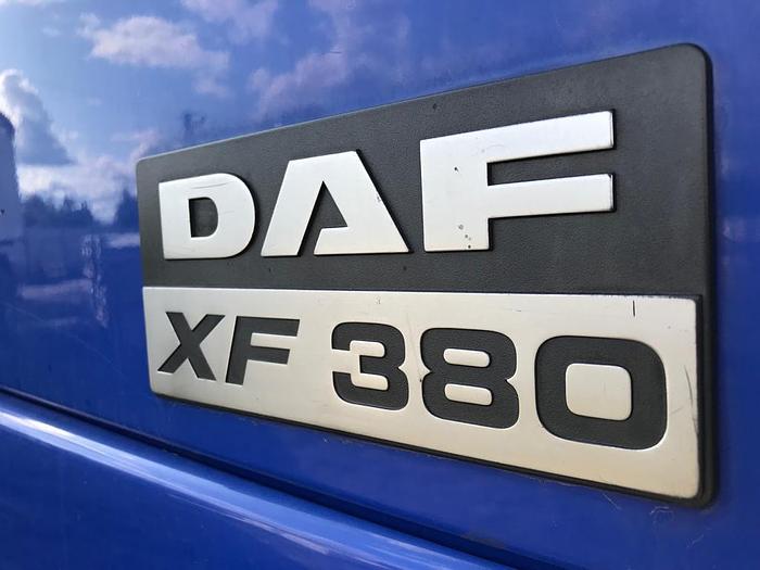 2002 DAF 95 xf 380 euro 3 manual