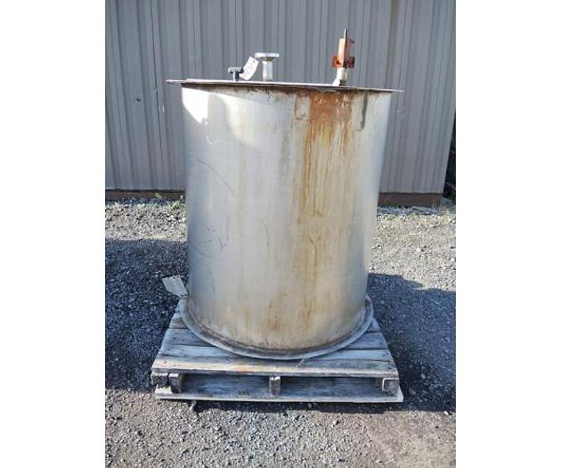 USED 175 GALLON TANK, STAINLESS STEEL