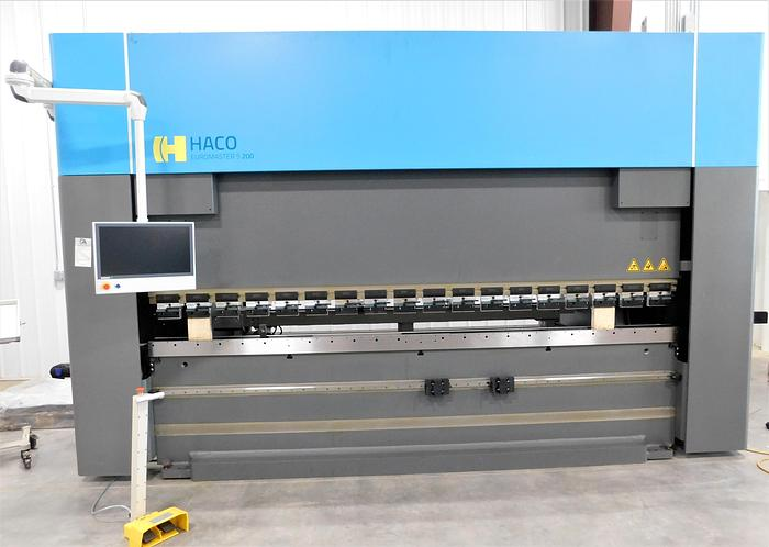 NEW Haco 220 Ton x 12' Servo Driven Press Brake Euromaster S220T