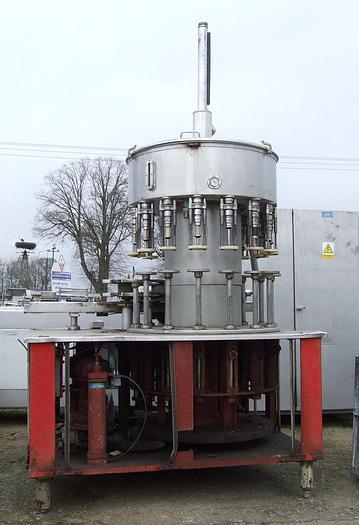 Used Automatyczna, próżniowa nalewaczka karuzelowa do płynów w butelki