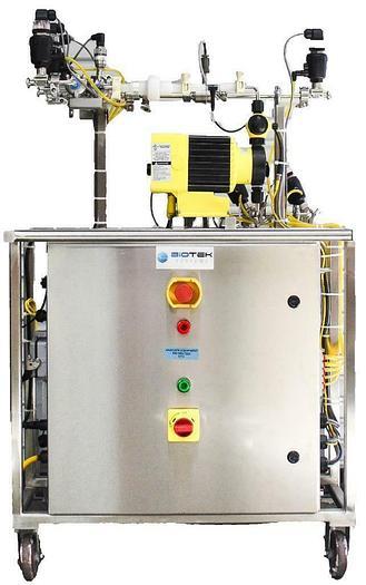 Used Biotek Systems Dosing Skid System w/ Allen Bradley Compactlogix L35E CPU (5772)